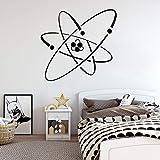 wZUN Atomelektronik Wissenschaft Vinyl Wandaufkleber Wand Chemie Chemie Kernphysik...