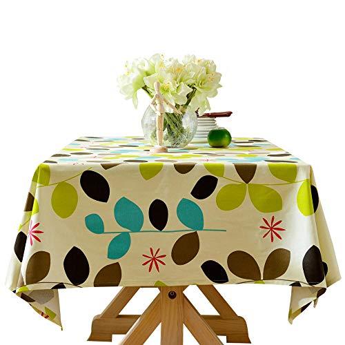 Tafeldoeken Rechthoekig Veeg Schone Pastorale Plant Katoen Stof Thee Tafelkleed Thuis Woonkamer Tafelkleed