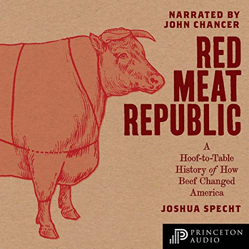 Red Meat Republic audiobook cover art