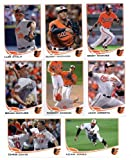 2013 Topps Baseball Baltimore Orioles Complete Team Set ( 22 cards) - L.J. Hoes Rookie, Manny Machado Rookie, 2012 AL Wild Card, Luis Ayala, robertino, Brian... rookie card picture