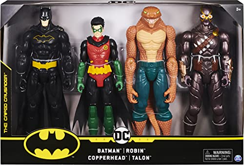 Batman 12-inch Action Figure 4-Pack (Styles May Vary)