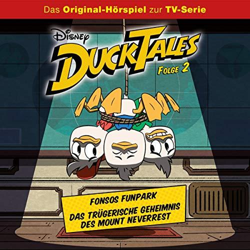 Fonsos Funpark / Das trügerische Geheimnis des Mount Neverrest. Das Original-Hörspiel zur TV-Serie Titelbild