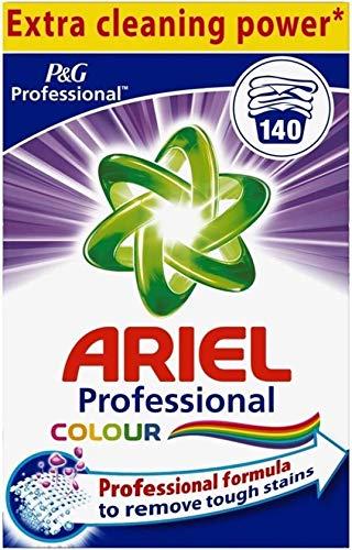Ariel Ariel Professional Detergente en polvo color 140 scoops 9600 g