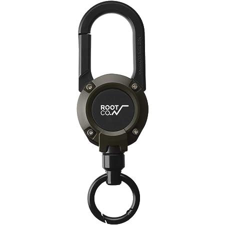 Magnet Built-In Carabiner Reel Gravity Mag Reel 360 Khaki // Matte Root Co.