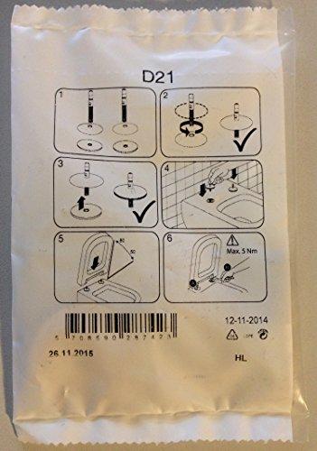 Villeroy & Boch Ersatz-Scharniersatz für WC-Sitze Subway 2.0 Memento