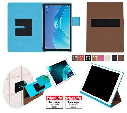 Hülle für Huawei MediaPad M5 8 Tasche Cover Hülle Bumper   in Braun   Testsieger