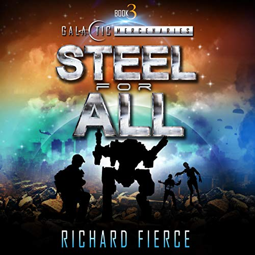 Steel for All audiobook cover art