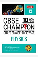 10 Years CBSE Champion Chapterwise-Topicwise - Physics-Class- 12 Kindle Edition