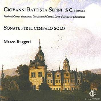 Serini: Sonate per il cembalo solo