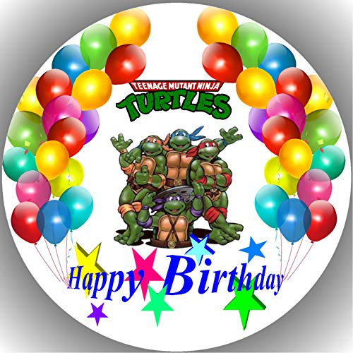 Fondant Tortenaufleger Tortenbild Geburtstag Turtles T20