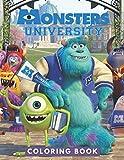 Monsters University Coloring Book: JUMBO Coloring Book For Kids   Ages 2-13+ Monsters University Colouring Book Gift For Children