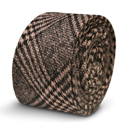 Cravate homme Frederick Thomas rose et noir à carreaux