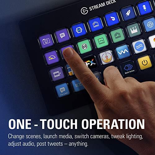 『CORSAIR elgato STREAM DECK XL ライブコンテンツ作成コントローラー メーカー保証2年 USB3.0 LCDボタン:32個 10GAT9901』の3枚目の画像