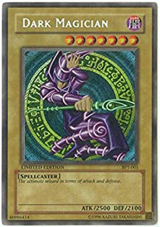 Yu-Gi-Oh! - Dark Magician A (BPT-001) - 20022003 Collectors Tins - Limited Edition - Secret Rare