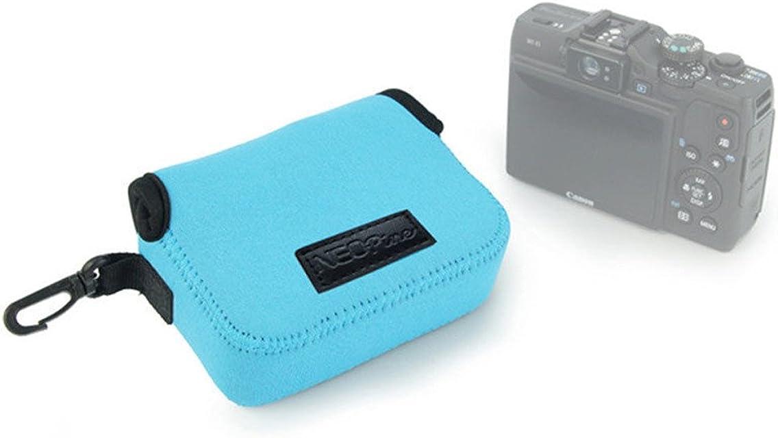 Funda de neopreno suave Cámara Protectora Bolsa de piel sintética para Canon PowerShot G12G15G16SX270SX275SX280SX710 g7x SX600SX610 1pieza