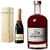 Moët & Chandon Imperial Brut Champagne and Edinburgh Raspberry Gin Liqueur