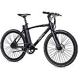 CHRISSON EOCTANT - Bicicletta elettrica da 28 pollici, con display manubrio, colore: nero, con...