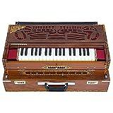 armonium accoppiatore di bilancia con 3 ance in legno di teak naturale, accordato a a440 strumento musicale indiano calcutta
