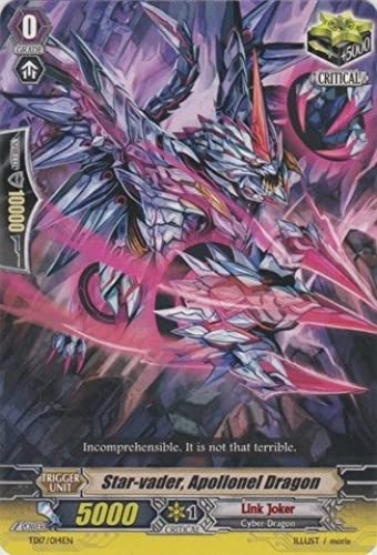 Cardfight   Vanguard TCG - Star-vader, Apollonel Dragon (TD17 014EN) - Trial Deck 17  Will of the Locked Dragon by Cardfight   Vanguard TCG