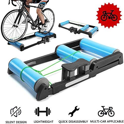 YLEI Home Trainers Rouleau à vélo Plate-Forme de Formation vélo Plateforme Montagne Route intérieure Équipement de Remise en Forme Support de vélo Portable
