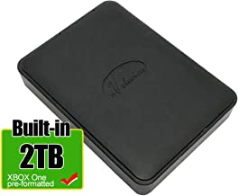 Avolusion 2TB USB 3.0 Portable Xbox One External Hard Drive (Pre-Formatted) HD250U3-X1-2TB-XBOX - 2 Year Warranty