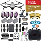 DJI Mavic 2 Zoom Drone Quadcopter with Fly More Combo, 3 Bat...