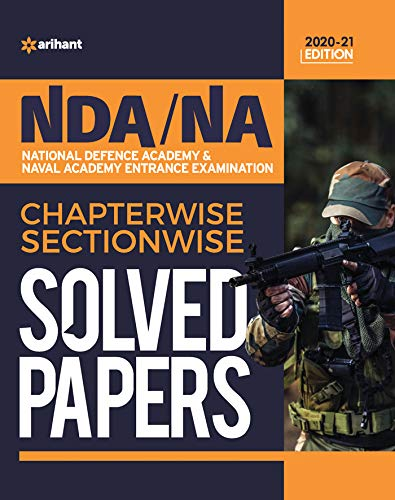 NDA / NA Solved Paper Chapterwise & Sectionwise 2020