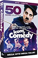 Icons of Comedy: 50 Movie Megapack [DVD] [Import]