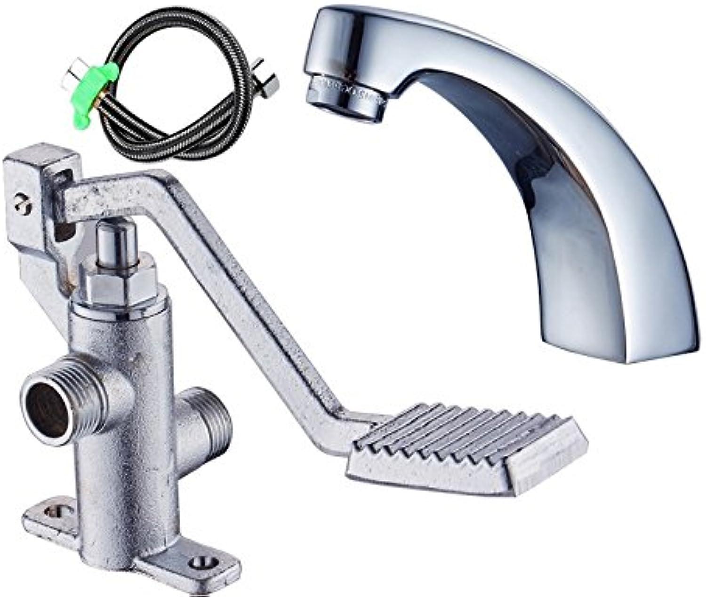 JWLT Hospital laboratory foot tap, foot valve copper