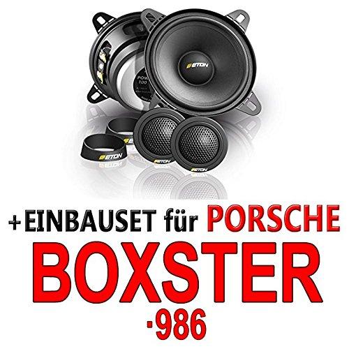 Eton POW 100.2 Compression - 2-Wege Lautsprecher System - Einbauset für Porsche Boxster (986) - JUST SOUND best choice for caraudio