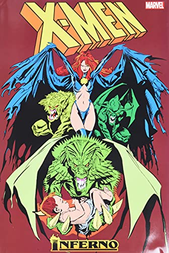 『X-Men: Inferno Omnibus』のトップ画像