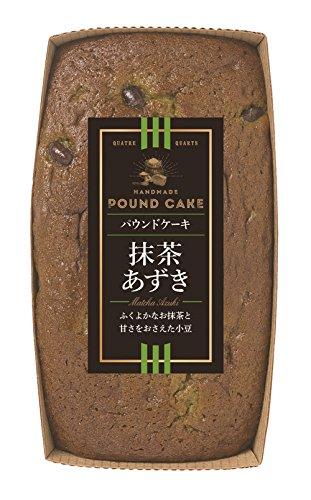 栗原園「パウンドケーキ抹茶あずき」