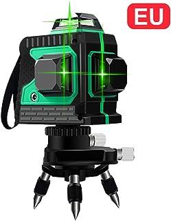 3D Nivel de Láser 12 Línea Luz verde de Alta Precisión