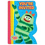 amscan Invitations | Yo Gabba Gabba Collection | Party Accessory