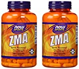 Now Sports ZMA Sports Recovery, 180 capsules, pack of 2...