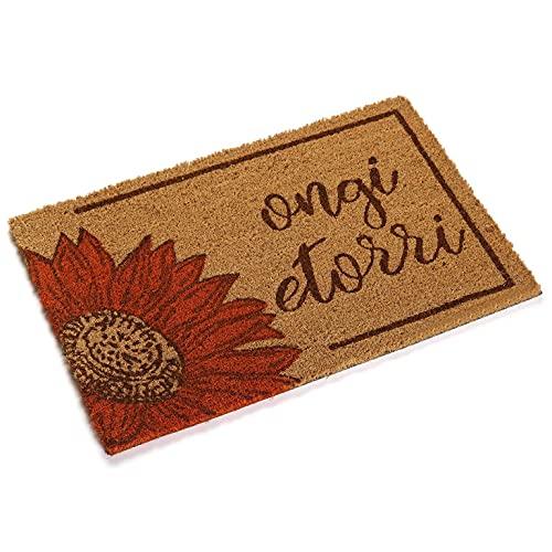 Versa, Felpudo de Girasol de Bienvenida, Linea decoración y Regalo, alfombras & felpudos (VS-16980427)