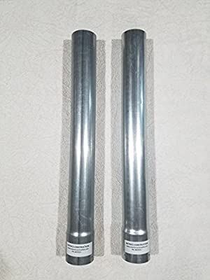 Metal Post Extension - Fence Extender 2-3/8 in. Extend-Fence-Height (Sell Set of 2)