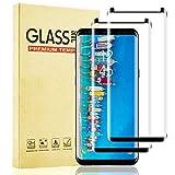 Lixuve Protector Pantalla para Samsung Galaxy S9 Vidrio Templado, Cobertura Toda Cristal Templado Película Protectora con Anti-Huella, Anti-Burbuja, Ajuste Preciso y Alta Sensibilidad, 2 Unidades