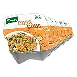 Knorr Apri E Gusta Cous Cous Con Zucca Ceci E Lime - Confezione Da 6 Pezzi - 1.32 kg