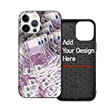 Custom iPhone 12 Pro Case Customized Case for iPhone 12 Pro with Photo/Text/Logo Ultra-Thin TPU+PC Shockproof Protection Customize Your Own iPhone Case (6.1 inch)