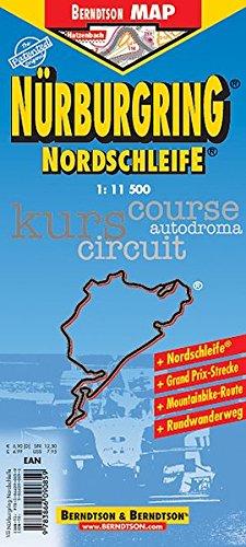 Nürburgring Nordschleife: 1:11 500. Einzelkarten: Nürburgring Nordschleife 1:11 500. Nürburgring Grand-Prix-Kurs 1:11 500. Großraumkarte Köln-Aachen-Koblenz 1:350 000