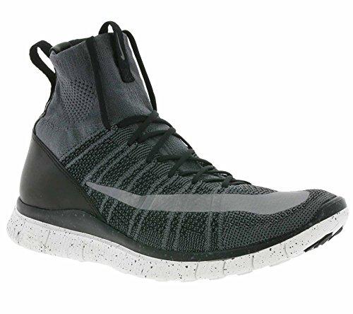 Nike Nike Herren Free Mercurial Superfly Straßenschuhe Fußballschuhe, Grau (Dunkelgrau/Schwarz/Summit Weiß/Silber), 42 EU