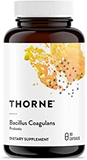 Thorne Research - Bacillus Coagulans Probiotic - Shelf Stable Probiotic Supplement to Promote GI Health - 60 Capsules