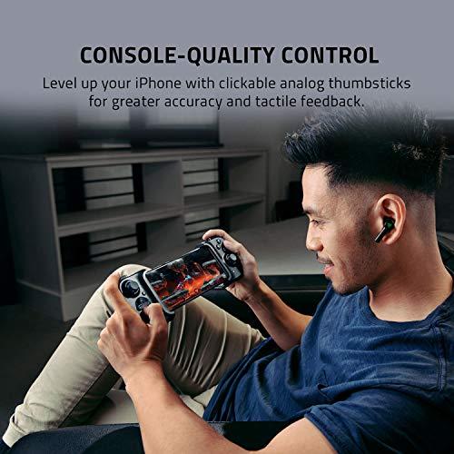 Razer Kishi für iOS (iPhone) – Smartphone Gaming Controller (USB-C Anschluss, Ergonomisches Design, Individuelle Passform, Analog-Stick, Ultra niedrige Latenz) Schwarz - 4