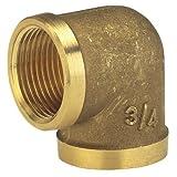 Gardena Codo de latón Rosca Interna: Codo con Rosca de 26.5 mm (G 3/4