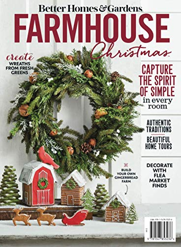 Compare Textbook Prices for Farmhouse Christmas  ISBN 9781547853236 by The Editors of Better Homes and Gardens