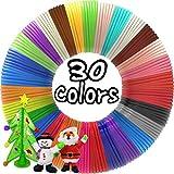 3D Pen Filament Refills 30 Colors, Bonus 250 Stencils eBooks - Dikale 3D Pen Filament...