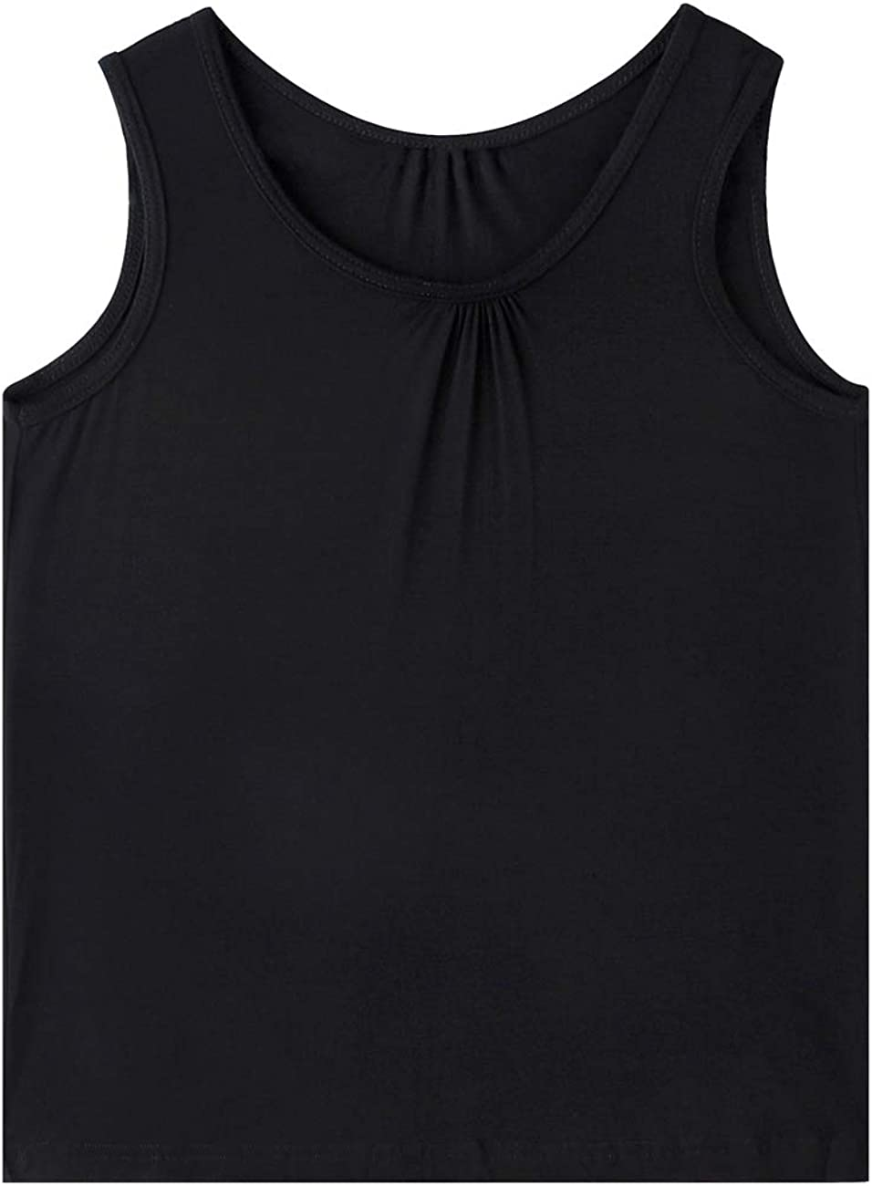 Frlozs Plus Size Tank Tops for Women Cami Casual Loose Fitting Tunic Not Bloated Flowy