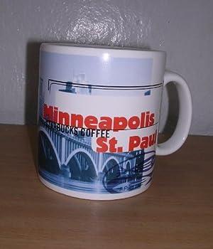 Starbucks Minneapolis St Paul Large Coffee Tea Mug 1999
