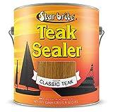 Star brite Teak Sealer - No Drip, Splatter-Free Formula - One Coat Coverage for All Fine Woods (Packaging may vary)